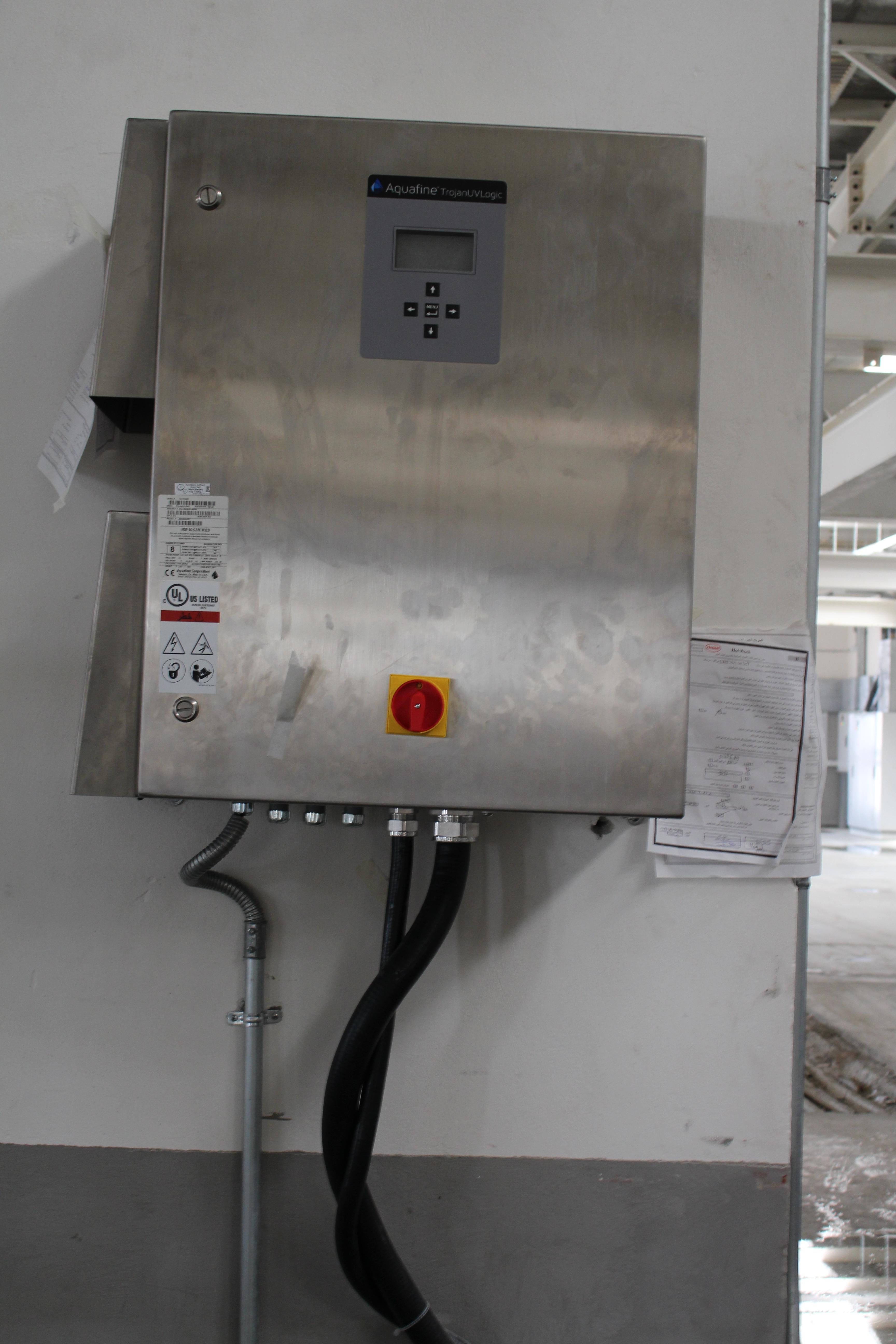 UV Control Panel